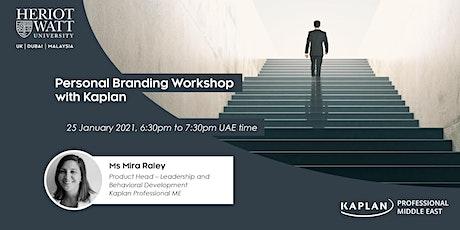 Personal Branding Workshop with Kaplan tickets