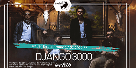 Django 3000 - Tour 4000 - Ingolstadt Tickets