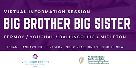 Meet Big Brother Big Sister Fermoy / Youghal / Midleton / Ballincollig tickets