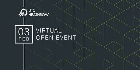 UTC Heathrow Virtual Open Event tickets