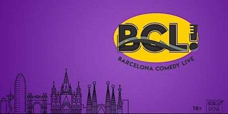 Barcelona Comedy Live • Sunday Brunch • pro comedians new material entradas