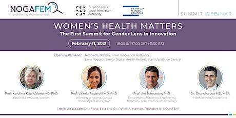 Women's Health Matters tickets