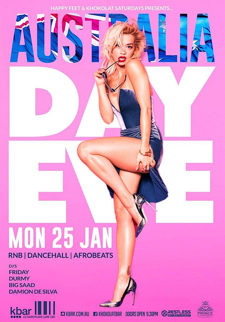 Khokolat Bar | Australia Day Eve! image