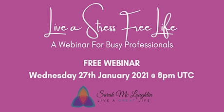 Live a Stress Free Life tickets