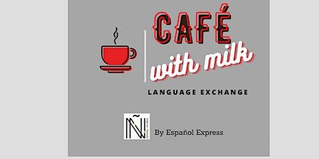 Languages Exchange Café With Milk tickets