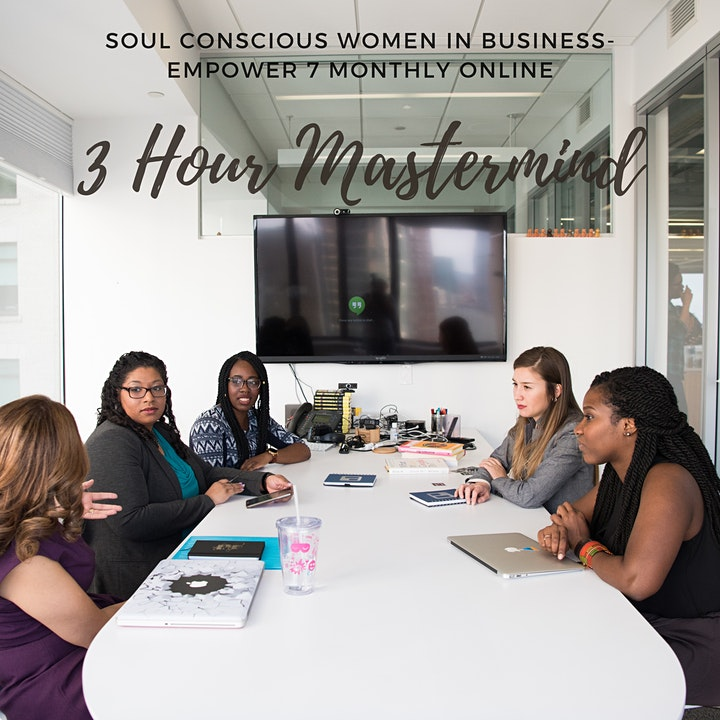 Soul Conscious Women in Business Monthly Masterclass image