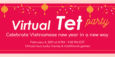Virtual TET Party by ABROADER tickets