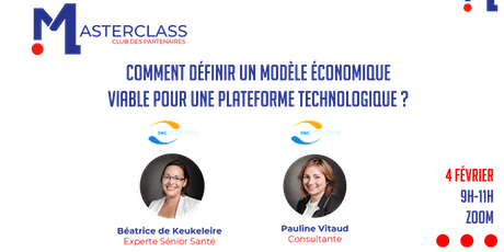 MASTERCLASS - D&Consultants billets