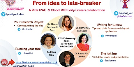WIC in Academia - From idea to late-breaker tickets
