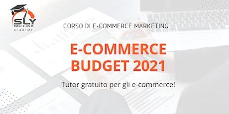 CORSO - E-commerce Budget 2021 biglietti
