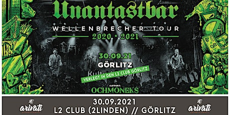 Unantastbar - Wellenbrecher Tour 2021 Tickets