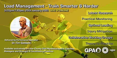 Load Management - Train Smarter AND Harder (Ireland) tickets