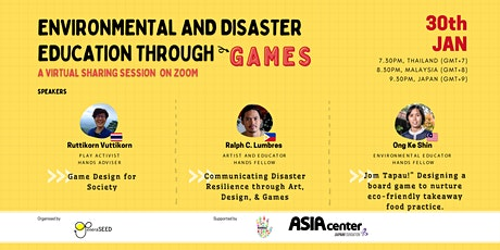 Environmental and Disaster Education through Games tickets
