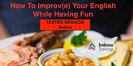 How To Improv(e) Your English While Having Fun - TASTER (Schnupperkurs) tickets