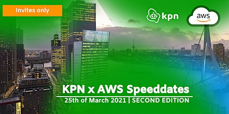 KPN x AWS Speeddates Event 25th of March 2021 tickets