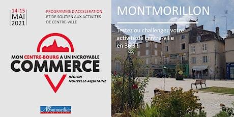 Mon Centre-Bourg a un Incroyable Commerce - Montmorillon billets