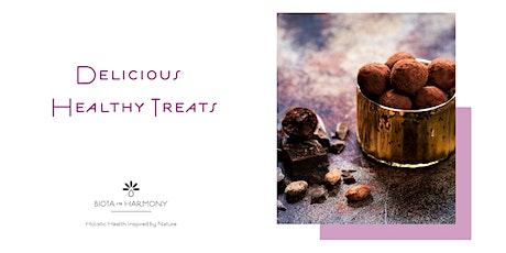 Delicious Healthy Cacao Treats tickets