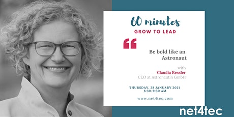 60 minutes GROW TO LEAD - Be bold like an Astronaut tickets