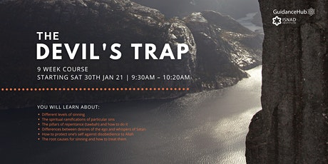 The Devil's Trap - (Every Sat from 30th Jan - ONLINE | 9 Weeks | 9:30AM) tickets