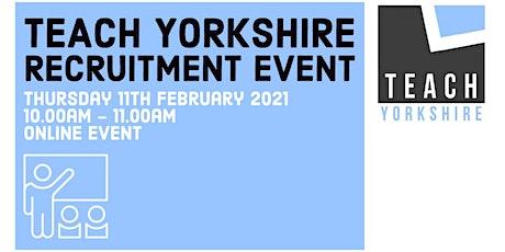 Teach Yorkshire - Teacher Training Event tickets