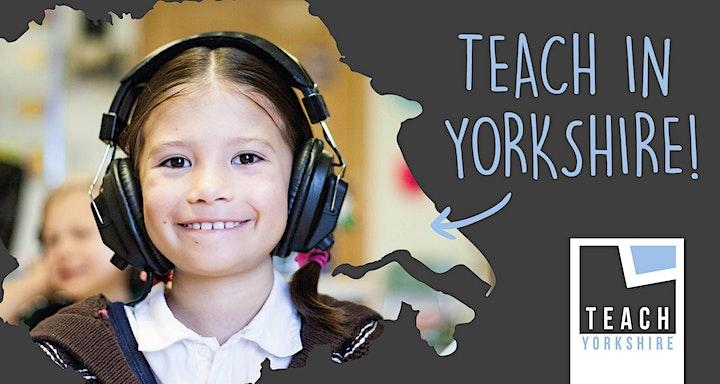 Teach Yorkshire - Teacher Training Event image