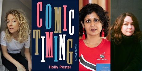 Comic Timing: Holly Pester, Vahni Capildeo and Rachael Allen tickets