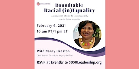 Rountable: Racial (in)Equality tickets