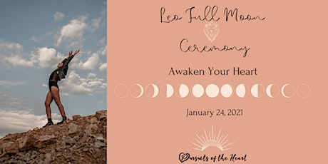 Leo Full Moon Ceremony: Awaken Your Heart tickets