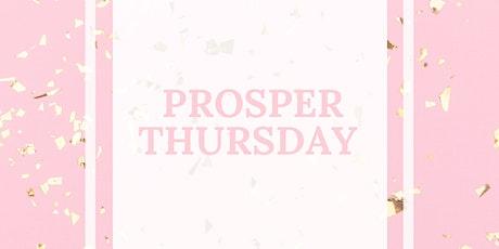 Prosper Thursday tickets