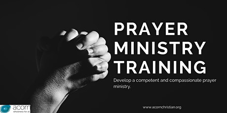 Prayer  Ministry Training (Digital Event) tickets