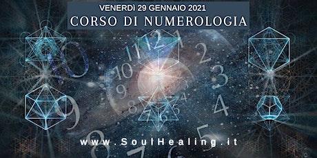 Corso di Numerologia biglietti