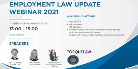 Castle Employment Group - Employment Law Update 2021 tickets