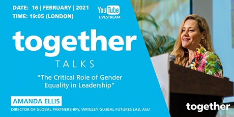 """The Critical Role of Gender Equality in Leadership"" With Amanda Ellis tickets"