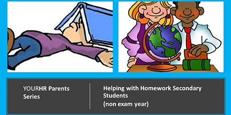 YourHR Parents Series -Helping with Homework Secondary (non exam year) tickets