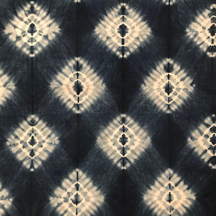 Hishaki nui shibori - stitch on the fold - Online class image