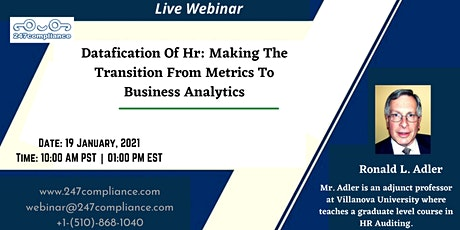 Datafication Of Hr: Making The Transition From Metrics To Business Analytic tickets