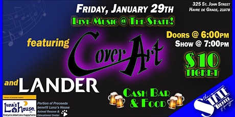 Live Music Featuring: Cover Art & LANDER tickets
