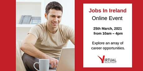 Virtual Recruitment Expo - Online Jobs Fair (Thurs, 25th  March, 2021) tickets