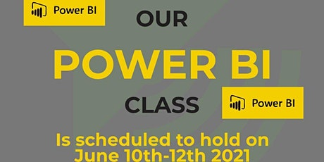 Power BI Training-Data Analysis & Business Intelligence Using Power BI tickets