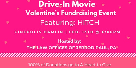 Drive-In Movie: Valentine's Fundraising Event tickets