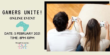 Gamers Unite! (virtual event) tickets