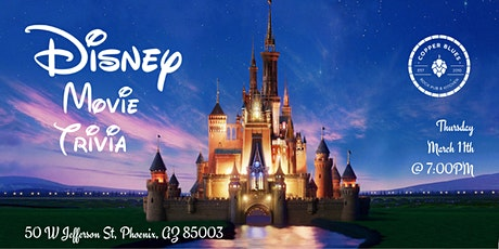 Disney Movie Trivia at Copper Blues Rock Pub and Kitchen tickets