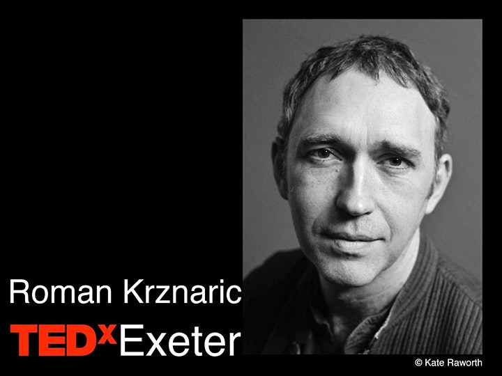 TEDxExeter Countdown in conversation with Roman Krznaric image