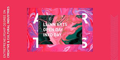 LEINN Arts 2020/21 Open Day ___ 8.0 tickets