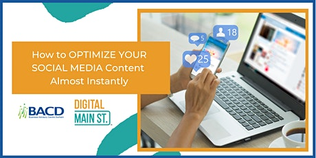 How to OPTIMIZE YOUR SOCIAL MEDIA content Almost Instantly tickets