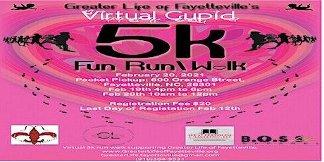 GLOF Virtual Cupid 5K Run/Walk - We went VIRTUAL this year! tickets