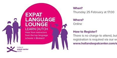 Expat Language Lounge: Winter 2021 Edition tickets