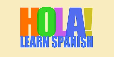 ONLINE Beginning Adult Spanish A1.2 Language Class tickets