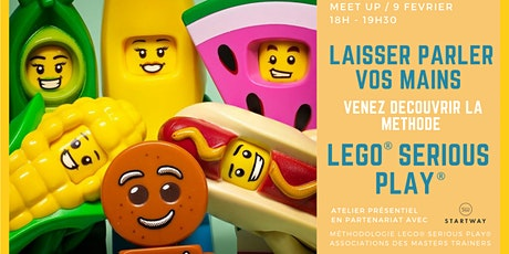 Laisser parler vos mains avec la méthode LEGO® Serious Play® billets