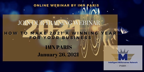Live Webinar Training: How to Make 2021 a Winning year for your Business tickets
